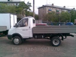 ГАЗ-33027-244 ГАЗель борт-тент с полным приводом