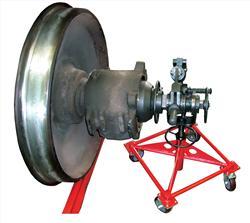 Установка для демонтажа буксовой гайки М110 колесных пар