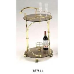 Столик сервировочный 83781-1 CR+BKG