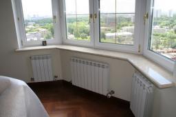 Остекление балконов и лоджий ПВХ, AL, SLIDORS
