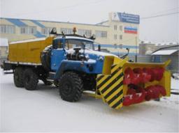 Снегоочиститель шнекороторный СШР-1