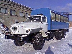 Урал вахтовый автобус