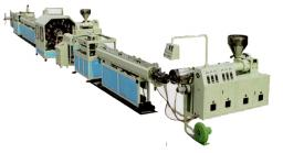 Экструзионная линия для производства армированных шлангов ПВХ стальной проволокой