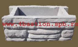 Производство заборов. Бетонные заборные блоки СКАЛА .Блок Забора СКАЛА БЗ СКАЛА.