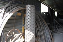 Производство и монтаж металлоизделий. Гибка дуги из профильной трубы