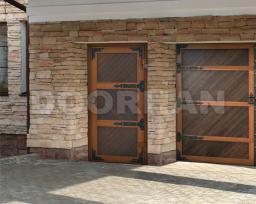 Гаражные двери Premium