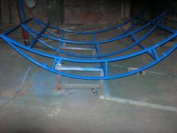 Производство каркасов навесов и других арочных конструкций