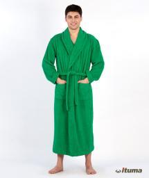 Махровый халат мужской, модель M 285