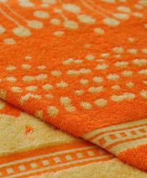 Жаккардовые пестротканые полотенца, дизайн №010