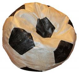 Кресло мешок мяч из кожи