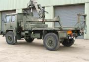 DAF T244 4x4 манипулятор колесосъемник