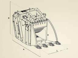 Дробильный ковш Delta BM 15