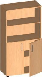 Шкаф низкий со стеклом ЛФ-223