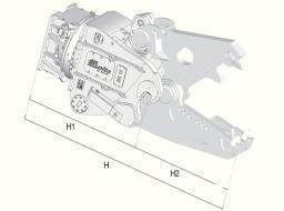 Гидравлические ножницы Delta MK-25 (без подвески и челюстей)