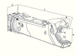 Гидроножницы для резки металла Delta CS 07R