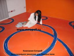 Декоративные полы Европолл