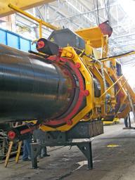 Комплекс машин для ремонта трубопроводов
