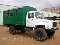 Вахта 15 мест на базе ГАЗ-33081