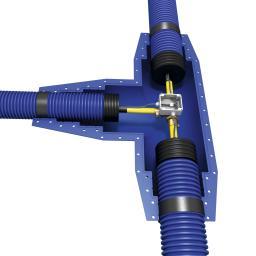 Комплект Т-образных элементов для изоляции кожуха трубопроводов Микрофлекс