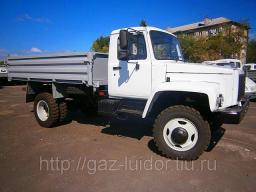 ГАЗ САЗ-2506 Самосвал на базе ГАЗ-33086