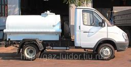 ГАЗ-3302 Молоковоз (пищевая цистерна крашеная)