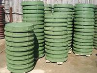 Люк канализационный полимерный тип