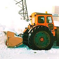 Снегоочиститель шнекороторный механический для задней навески на трактора МТЗ-80/82
