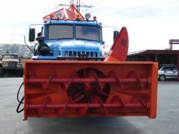Снегоочиститель шнекороторный на автомобиль УРАЛ