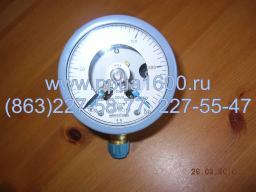 Манометр ДМ 2010 Сг электроконтактный (0–250 кг/см) Ду корп. 100 мм (ЭКМ 2у)