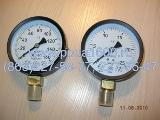 Манометр (0–160 кг/см) Ду корп. 100 мм МП3-У