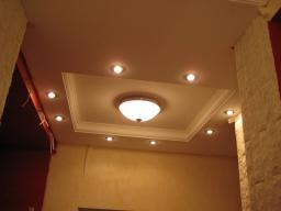 Монтаж потолка ГКЛ (из гисокартона)