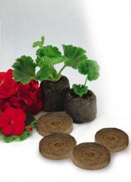 Торфяные таблетки Джиффи, диаметр 24 мм,2000шт/кор