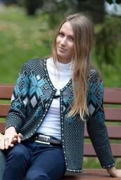 Пенза молодежный красивый модный короткий шерстяной женский кардиган дешево