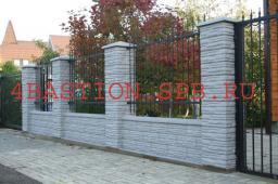 Строительство бетонных заборов