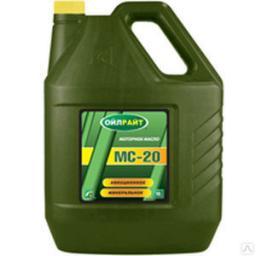 Масло авиационное OIL RIGHT МС-20 10л