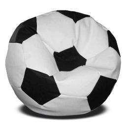 Кресло мяч бело-черный, в наличии