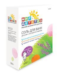 40109 Соль для ванны детская с экстрактом лаванды, 500 г