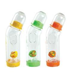 11067 Бутылочка пластиковая антиколик. с силик.соской, 225 мл.