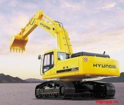 Запчасти на экскаватор Hyundai (Хундай) R360LC-7, R360LC-7A