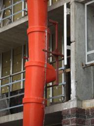 Секции для сброса строительного мусора