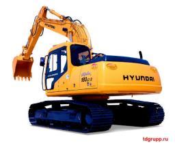 Запчасти на экскаватор Hyundai (Хундай) R180LC-7