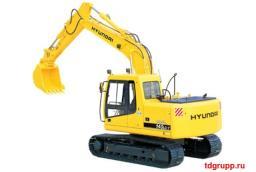Запчасти на экскаватора Hyundai (Хундай) R140LC-7