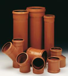 Труба ПВХ класс SN8 канализационная 110x3.2 - 6060мм