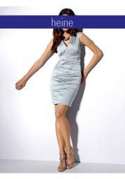 Модное платье-футляр с эффектными складками спереди от бренда ashley brooke очень дешево в Пензе