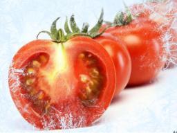 Замороженный томат (дольки)
