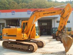 Гусеничный экскаватор Hyundai Robex 1400LC-7 (R140), 2006г