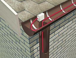 Саморегулирующийся кабель для обогрева крыш и водостоков RGS 50-2 CR (N) (Обогрев кровли)