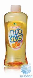 Mitsuei Концентрированное средство для мытья посуды, овощей и фруктов с ароматом апельсина (запасная бутылка) 0.3л
