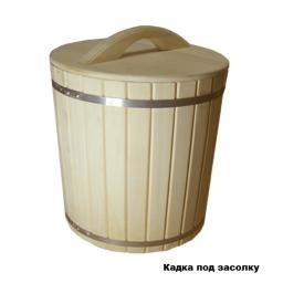 Кадка деревянная из кедра 20 литров