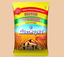 Отруби хрустящие пшеничные «Диетмарка» в ассортименте